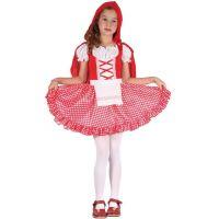 Made Detský karnevalový kostým Červená Čiapočka S 110 - 120 cm