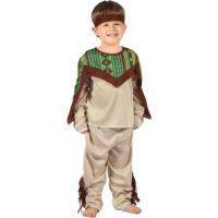 Made Detský karnevalový kostým Indián XS 92 - 104 cm