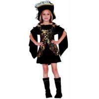 Detský karnevalový kostým Korzárka S 110 - 120 cm