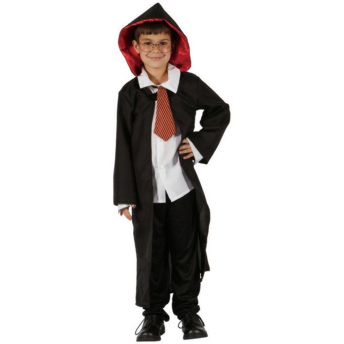 Made Detský kostým Čarodejník 120-130 cm