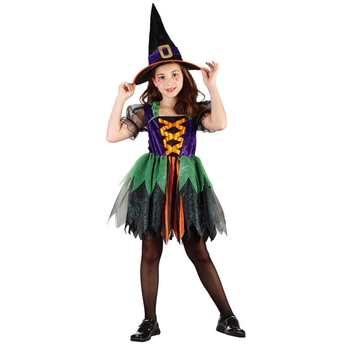 Made Detský kostým čarodejnica veľ. S
