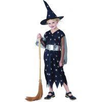 Made Detský kostým Čarodejnica pavúk  110-120 cm