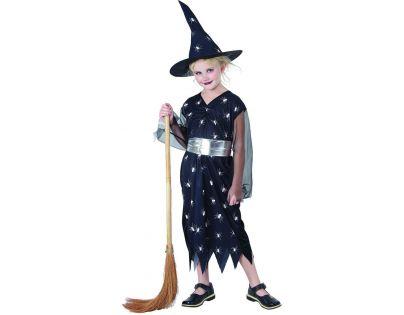 Made Detský kostým Čarodejnica pavúk  120-130 cm