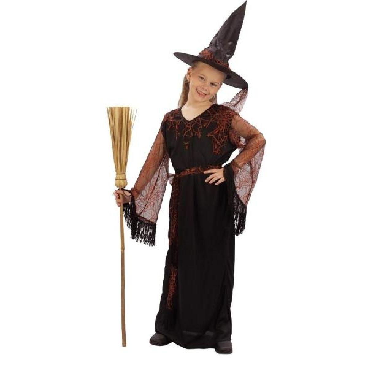 Made Detský kostým čarodejnica 120-130 cm