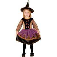MaDe Detský kostým čarodejnica pre malé deti