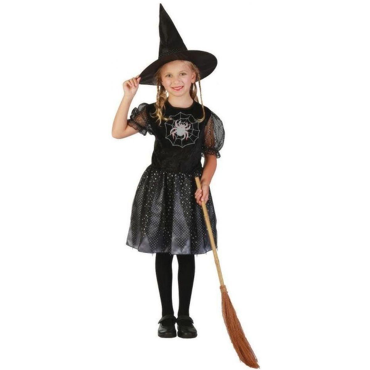 Made Detský kostým Čarodejnica 130-140 cm