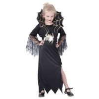Made Detský kostým Čierna kráľovná 130-140 cm