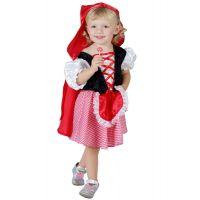 Made Šaty na karneval Červená čiapočka veľ.  XS