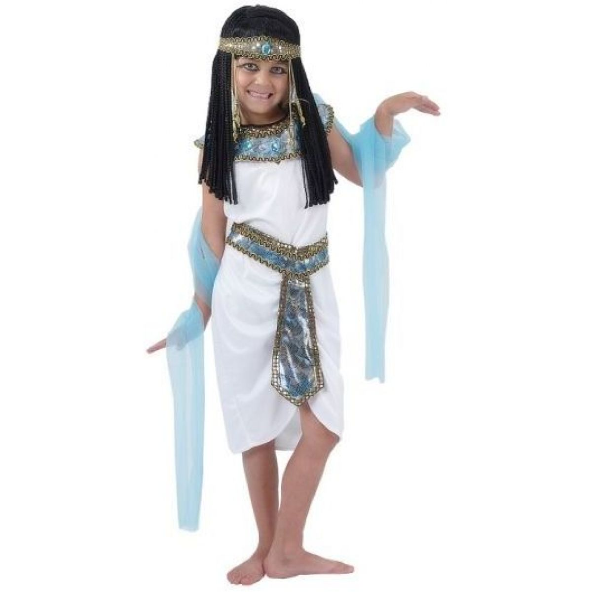 Made Detský kostým Egyptská kráľovná 110-120 cm
