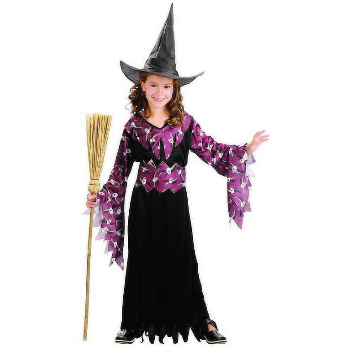 Made Detský kostým Gotická čarodejnica 120-130 cm