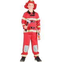 Made Detský kostým Hasič 120-130 cm
