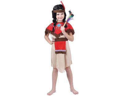 Made Detský kostým Indiánka 120-130cm