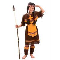 MaDe Detský kostým Indiánka S