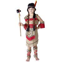MaDe Detský kostým indiánka veľkosť M