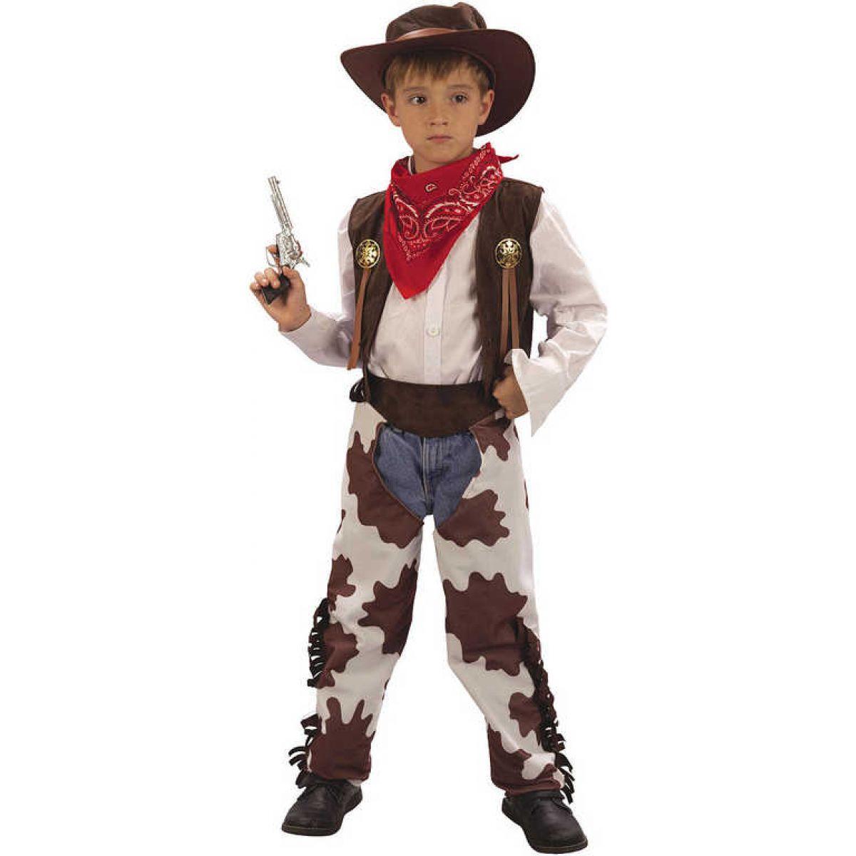 Made Detský kostým Kovboj 120-130 cm