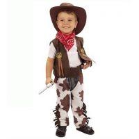 Made Detský kostým Kovboj 3-4 roky