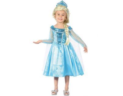 Made Detský kostým Ľadová Kráľovná 92-104 cm