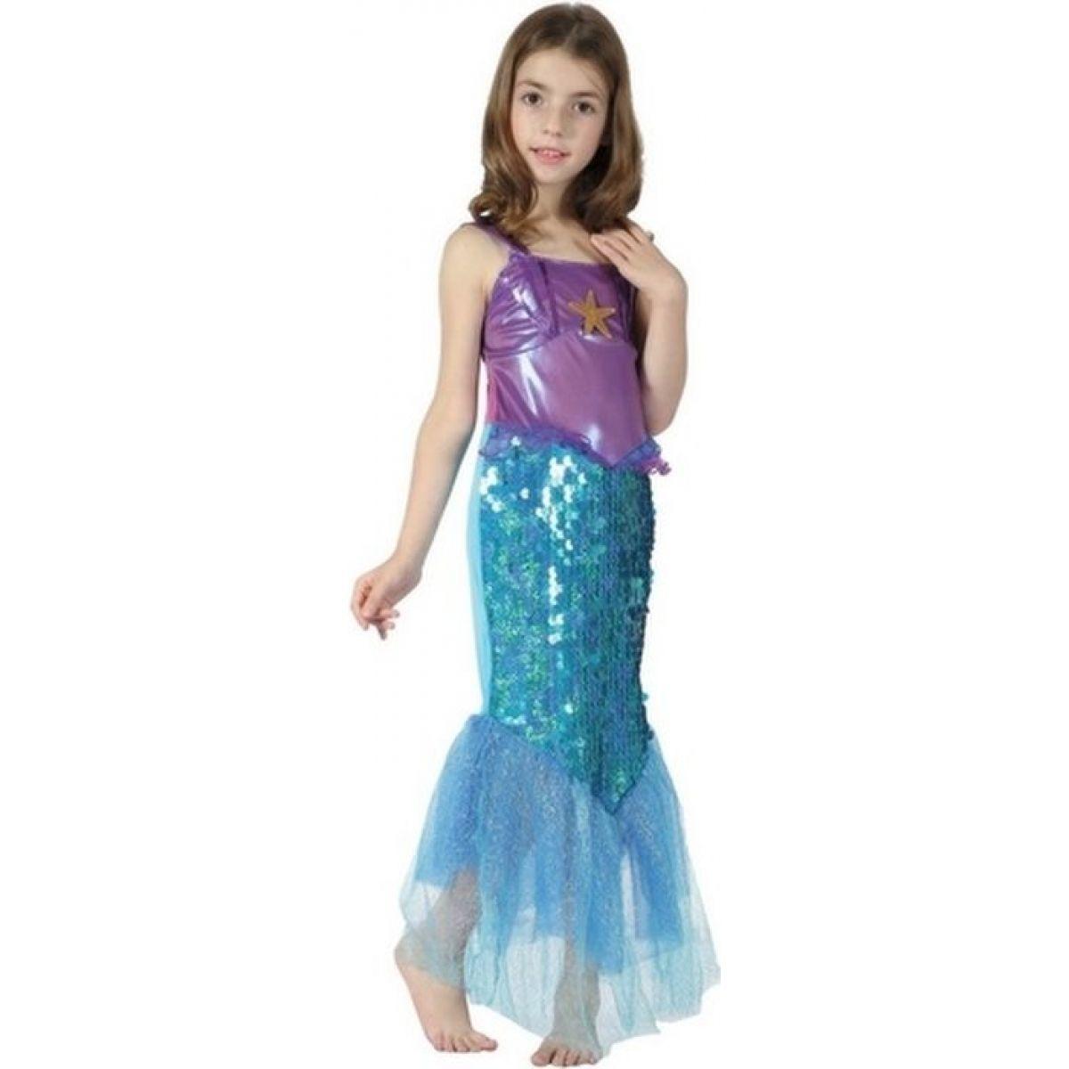 Made Detský kostým Morská panna hviezda 120-130 cm