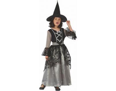 Made Detský kostým na karneval Čarodejnica 120-130 cm