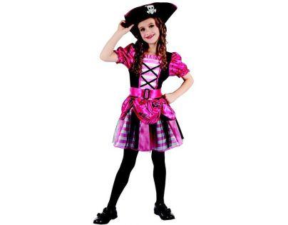 Made Detský kostým na karneval pirátka 120-130 cm