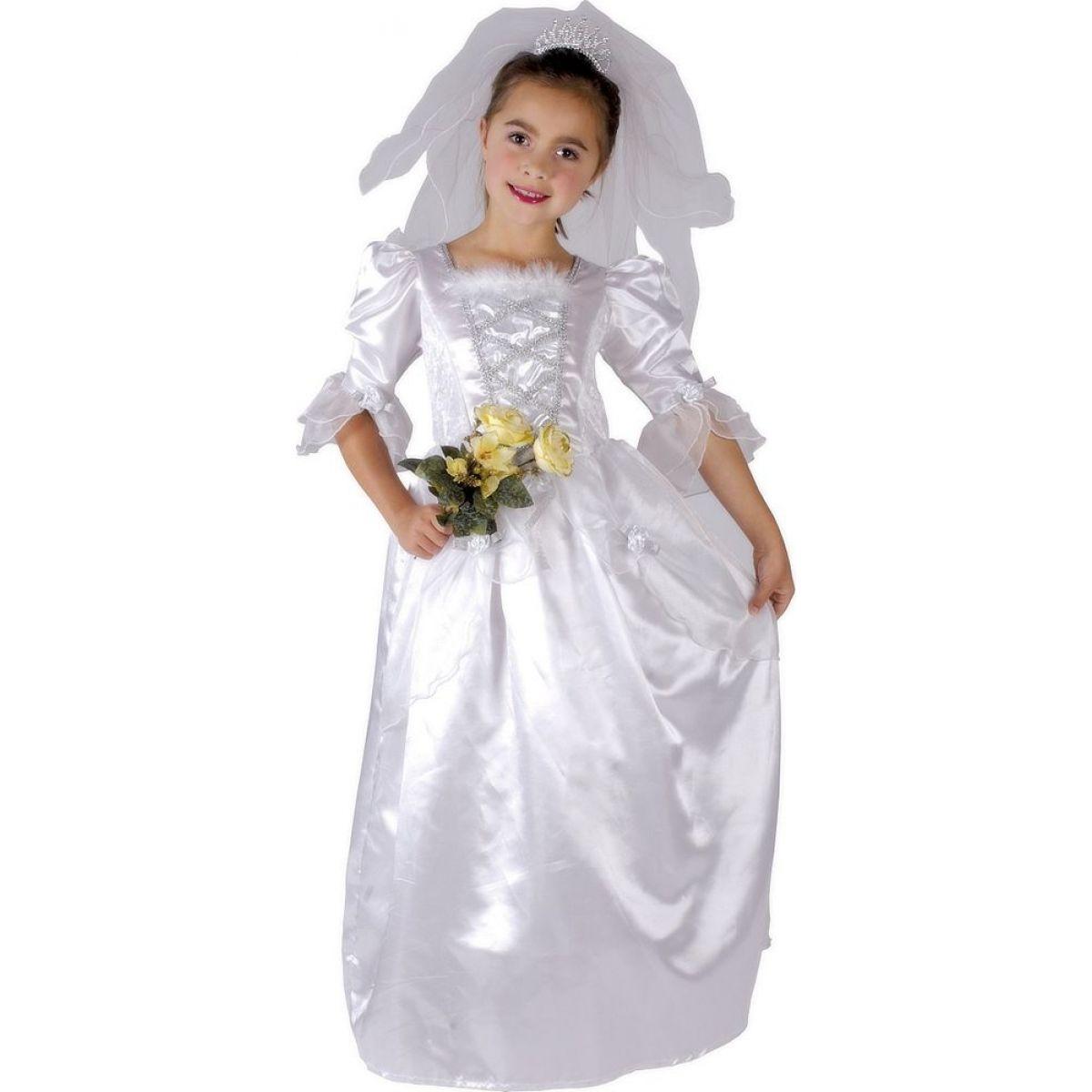 Made Detský kostým Nevesta 110-120cm