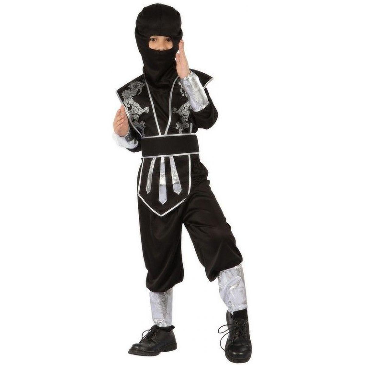 Made Detský kostým Ninja 120-130cm