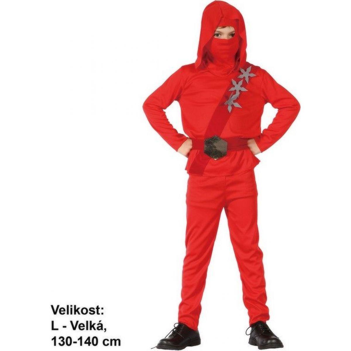 Made Detský kostým Ninja 130-140 cm