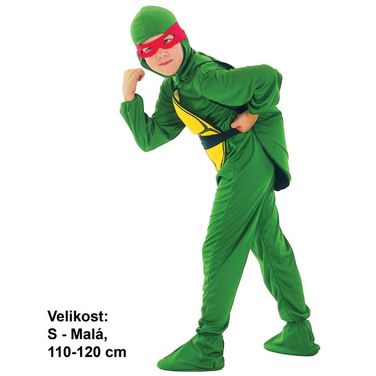 Made Detský kostým Ninja Korytnačka 110-120 cm