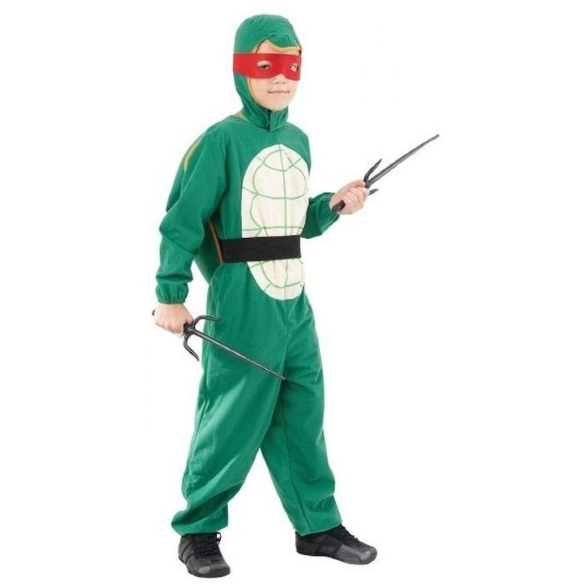 Made Detský kostým Ninja Korytnačka 120-130 cm