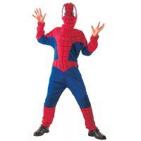 MaDe 75066 - Šaty na karneval - Pavúčí hrdina,  (130 - 140 cm)