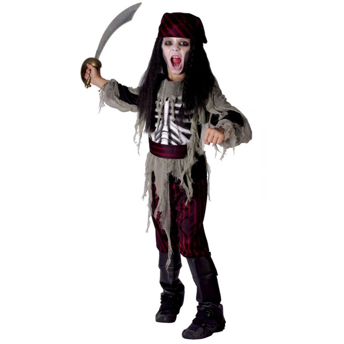 Made Detský kostým Pirát 110-120cm