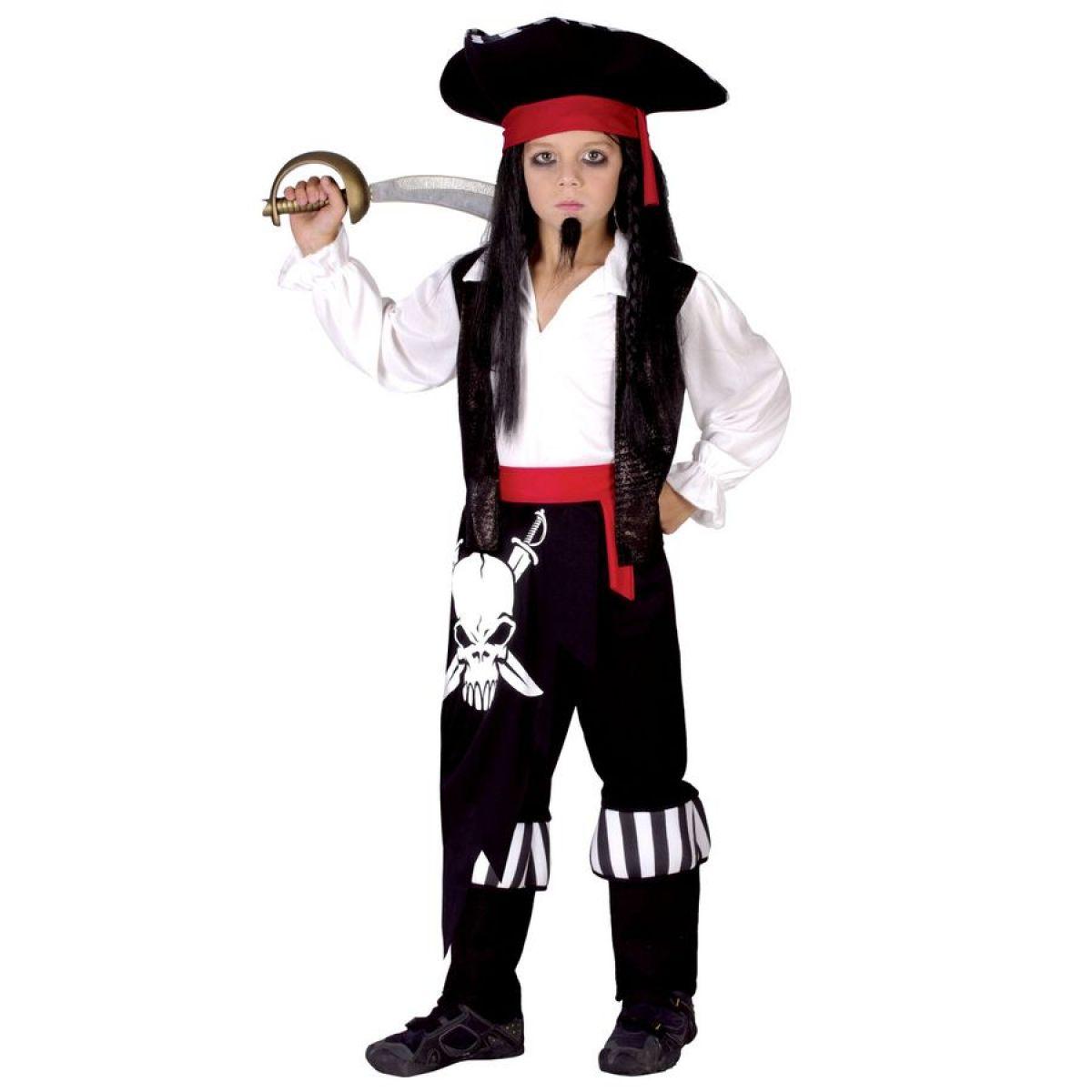 Made Detský kostým Pirát veľ. 4-6 rokov