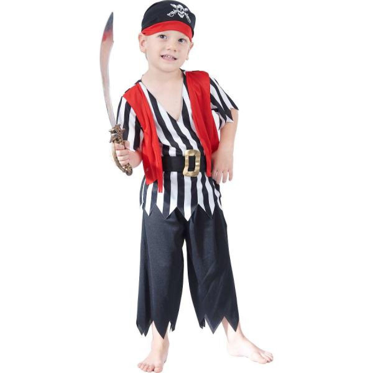 Made Detský kostým pirát veľ.S