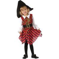 Made Detský kostým Pirátka 92-104cm