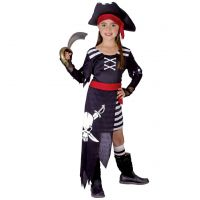 Made Detský kostým Pirátka 110-120cm