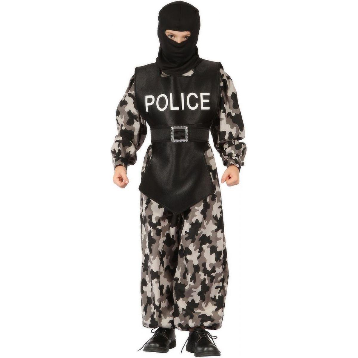 Made Detský kostým Policajt 110-120 cm