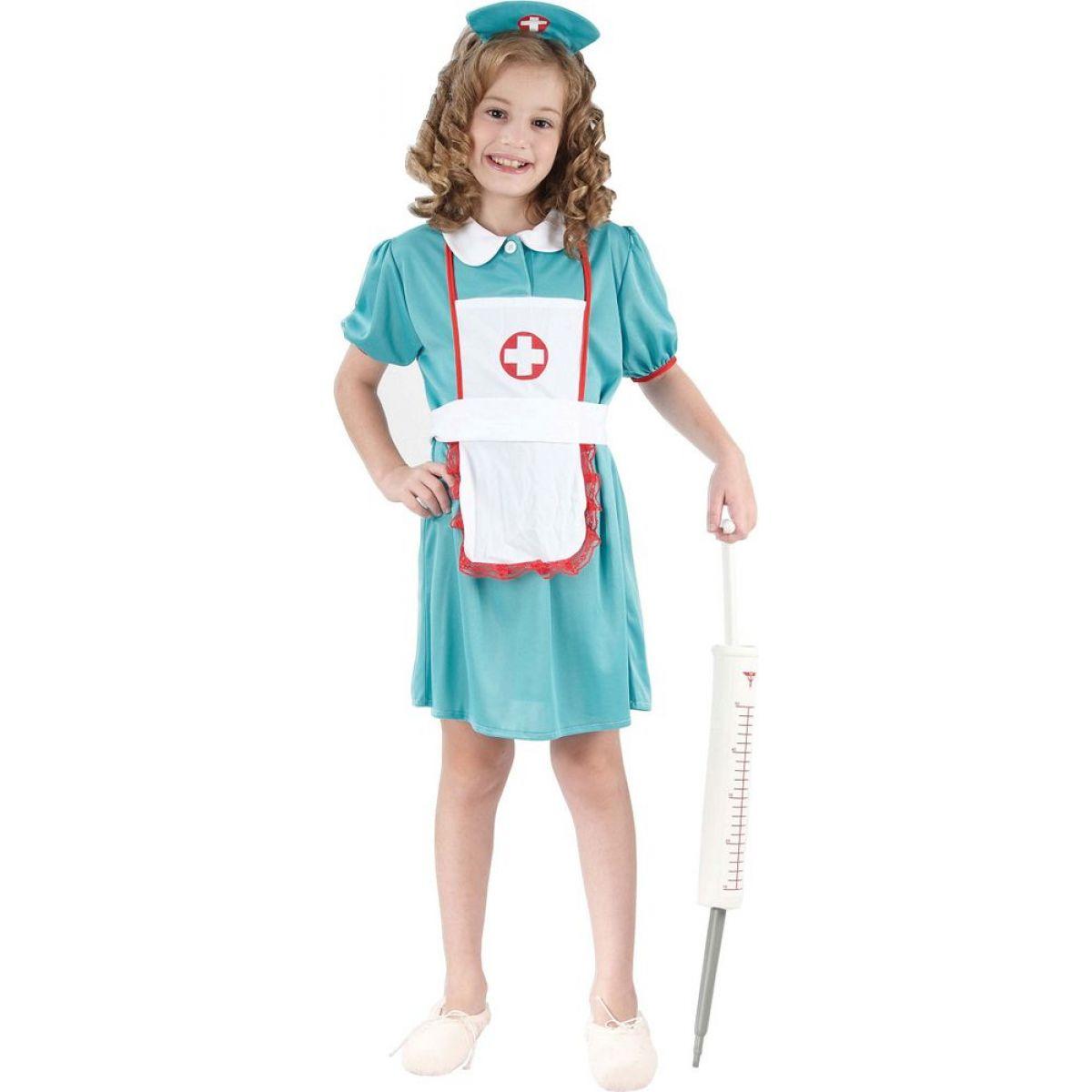 Made Detský kostým Sestrička 110-120cm