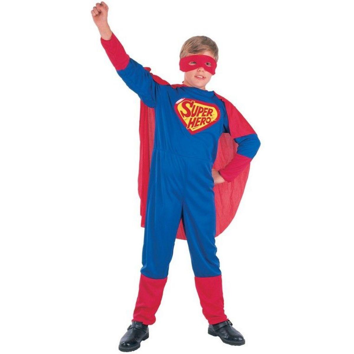 Made Detský kostým Super hrdina 110-120 cm