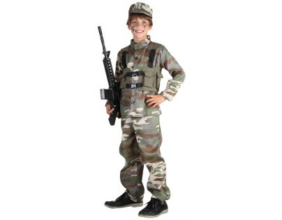 baef2bbff Made Detský kostým Vojak 120-130cm | 4kids