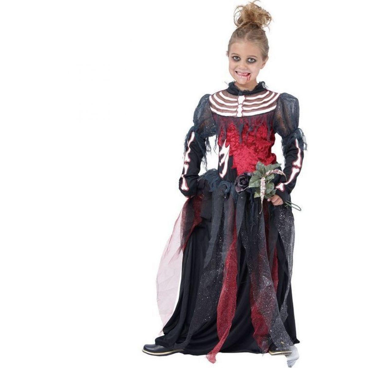 Made Detský kostým Zombie dievča 130-140 cm