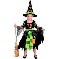 Made Karnevalový kostým Čarodejnica 92-104 cm