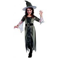 Made Kostým na karneval čarodejnica 120-130 cm