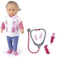 Made mluvící panenka Adélka Doktorka 50 vět 40 cm