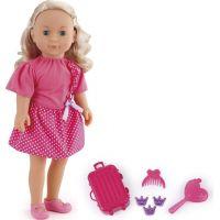 Made mluvící panenka Adélka Cestovatelka 50 vět 40 cm