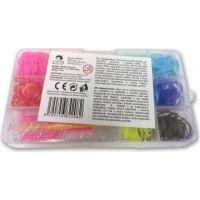 Made Sada gumiček 300ks v boxu 11 barev