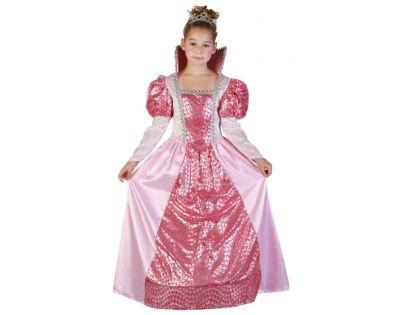 6ea037e3adcf Made Šaty na karneval Kráľovná 120-130 cm