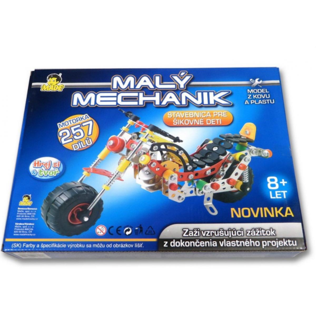Made Malý mechanik motorka