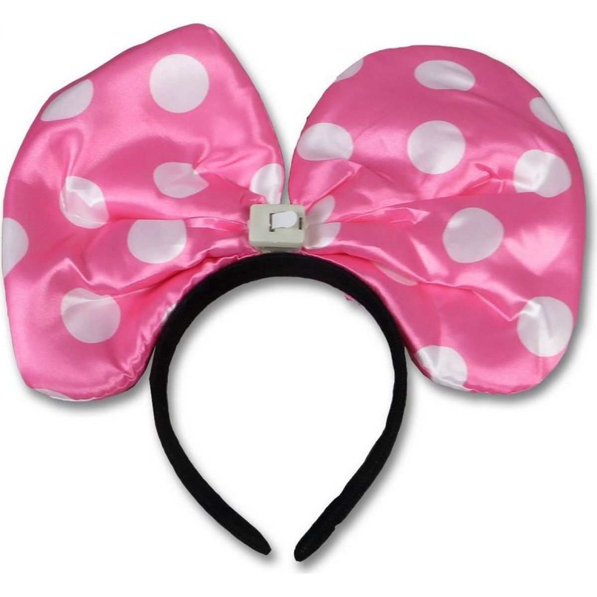 Made Svietiace uši myšky Minnie ružové