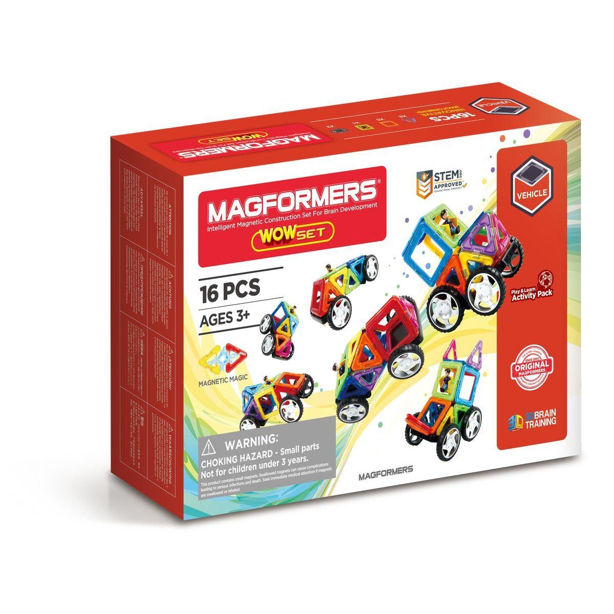Magformers 28 in 1 Wow! Starter 16 ks