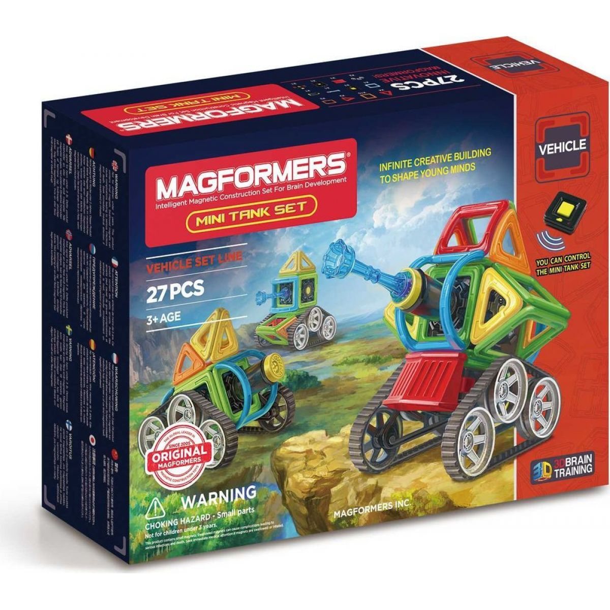 Magformers Mini Tank 27 dielikov